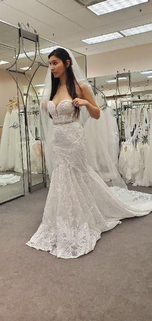 Mermaid/trumpet wedding gowns! 5