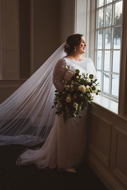 Color and length of veil?? Help! - 2