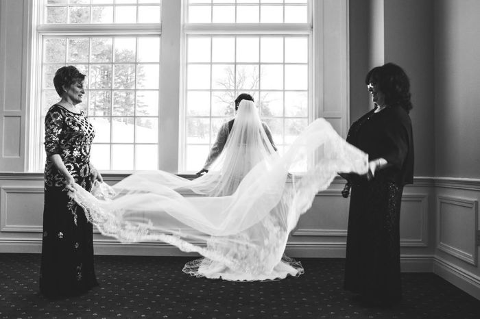 Color and length of veil?? Help! 5