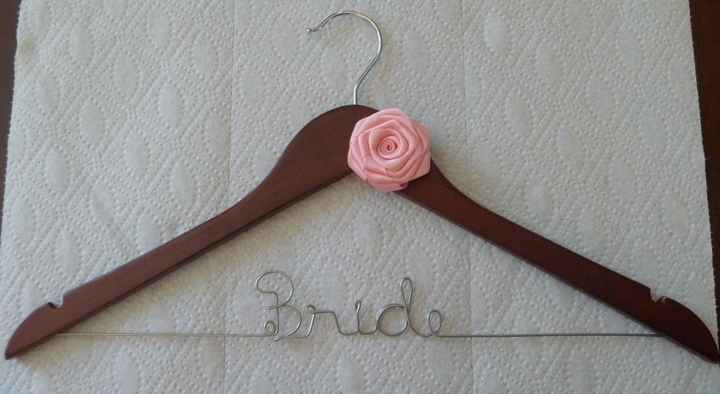 Bridal party hangers??