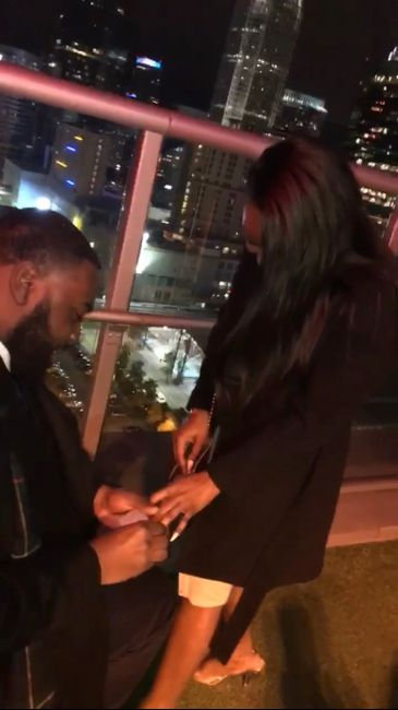 Was your proposal caught on camera? Share your proposal pic! 9