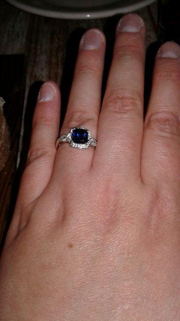 Blue wedding ring 5