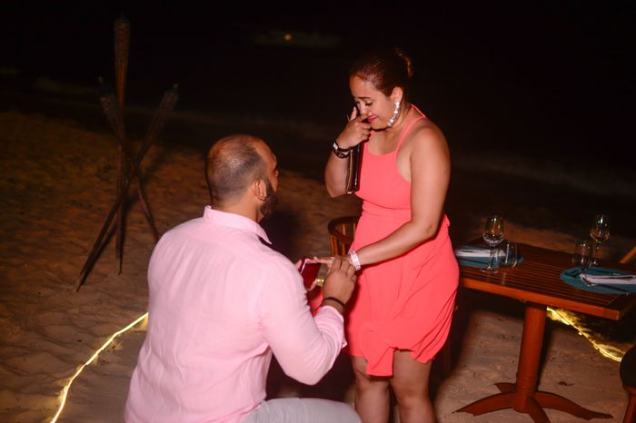 Was your proposal caught on camera? Share your proposal pic! 11