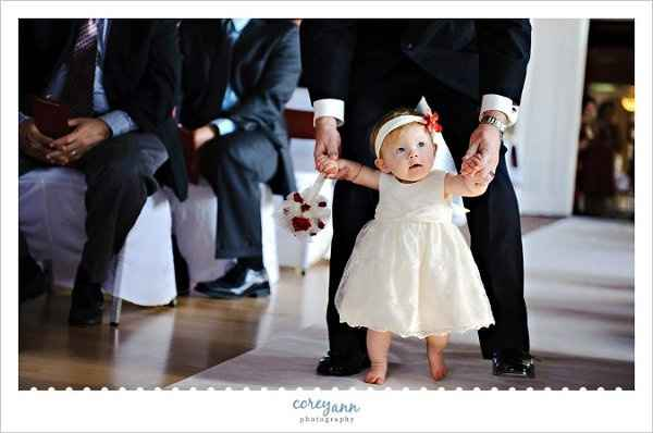 Anyone include their baby in the wedding?