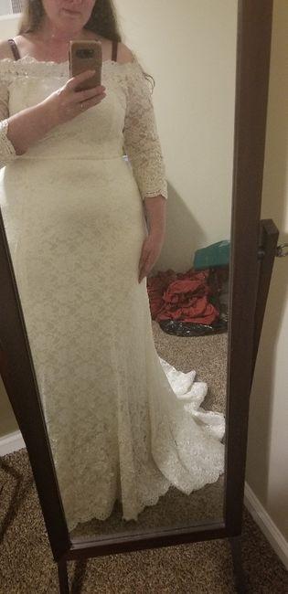 Wedding dress on a budget - 1