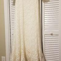 Mermaid dress with slip - 1