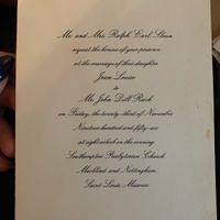 Grandmothers & Great-grandmothers Wedding Invitations - 1
