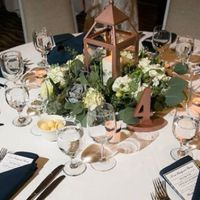 Sparkly Sunday: Reception Tables - 1