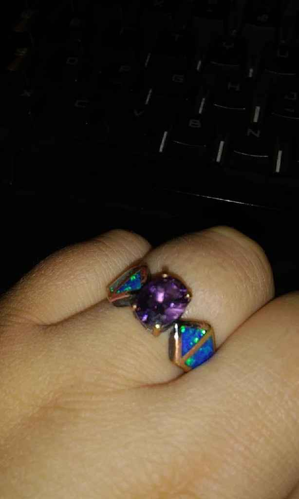Non traditional ring - 1