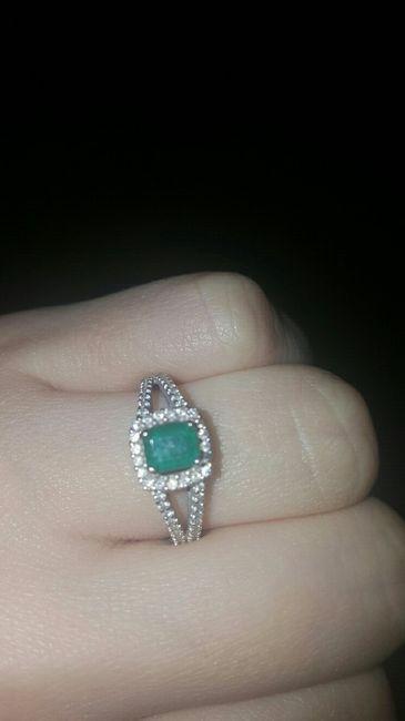 Show me your unique engagement rings! 3