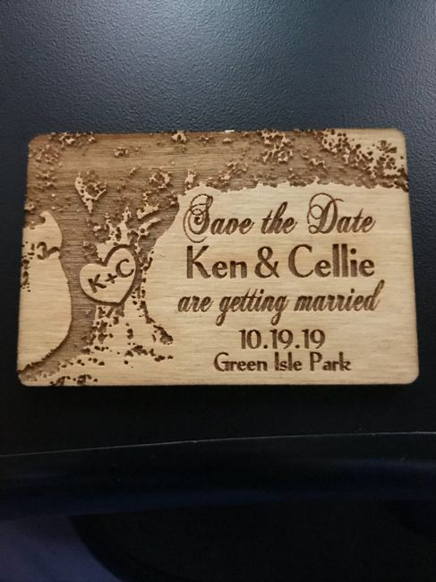 show me your save the Dates!! 6