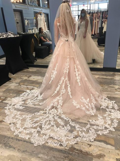 What color Bridesmaid Dresses would work best with my gown? 1