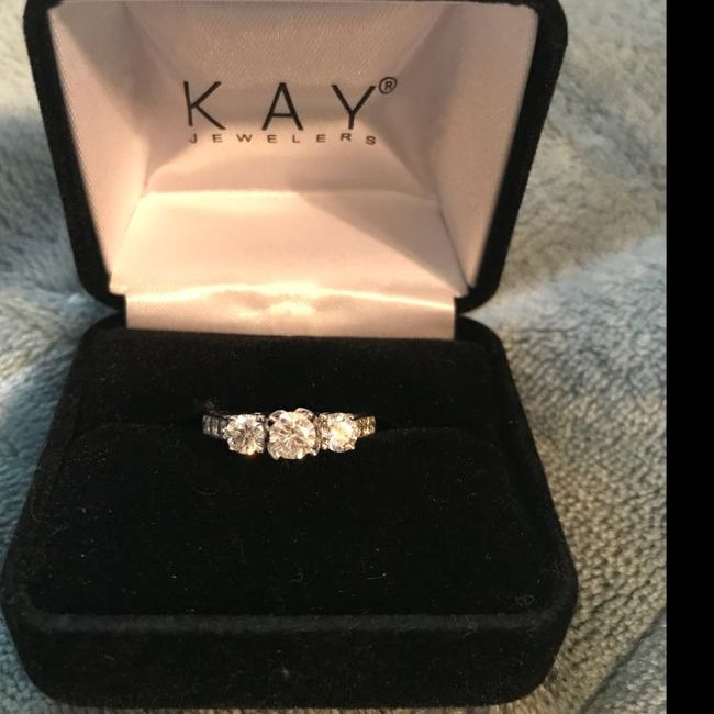Your Engagement Ring: Total Surprise, Some Input, or Picked it Out Yourself? 4