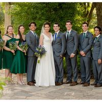 Our most perfect, perfect wedding party