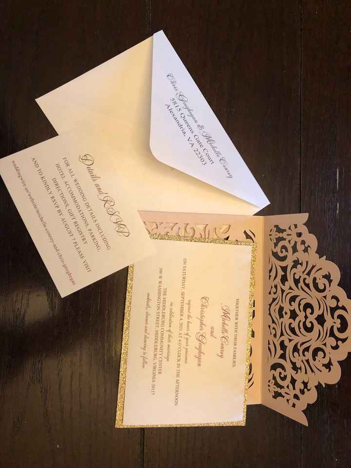 Stylish Wedd Invites - 1