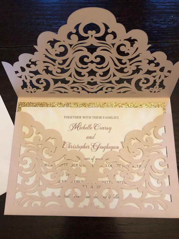 Stylish Wedd Invites - 2