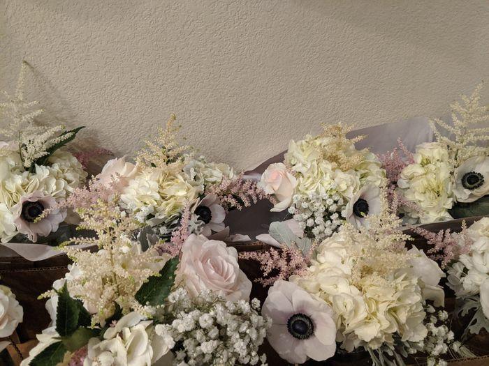 diy flower decor questions. - 2