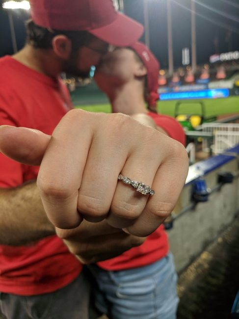 Happy Tuesday ladies! Where did your fiance propose and how? 9