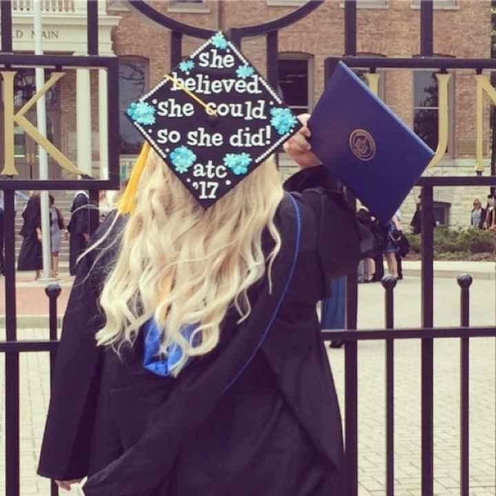 NWR: I graduated yesterday!
