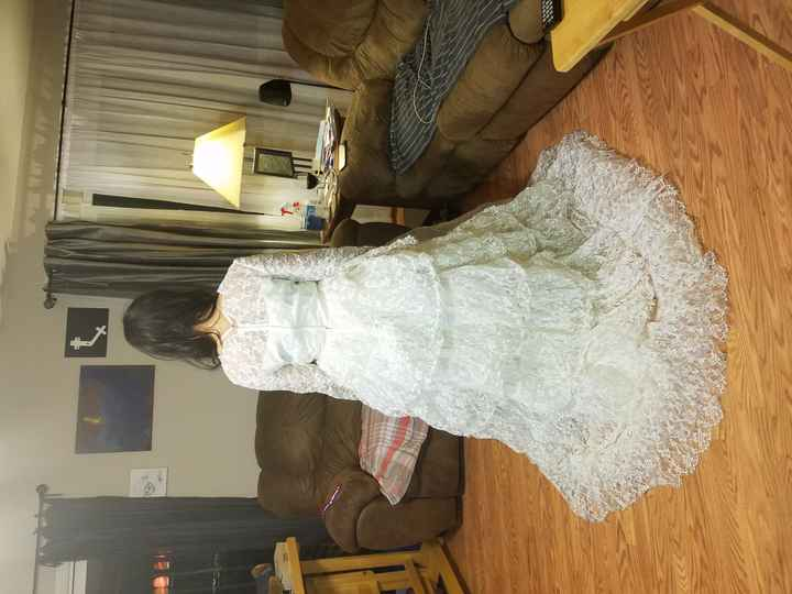 Revamping Grandma's Wedding Dress