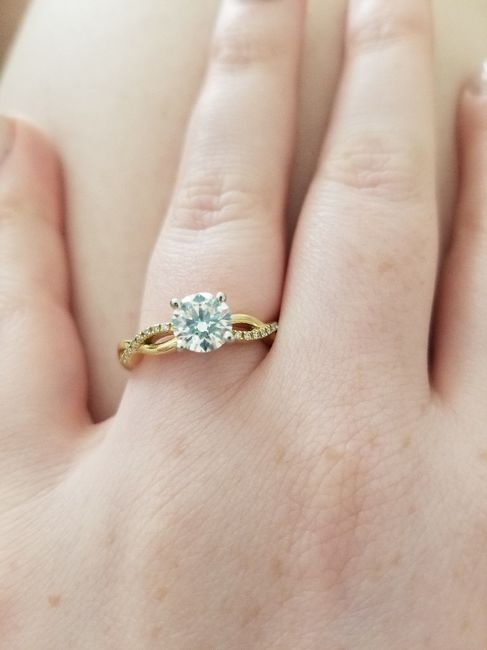 Show me your engagement ring! 8