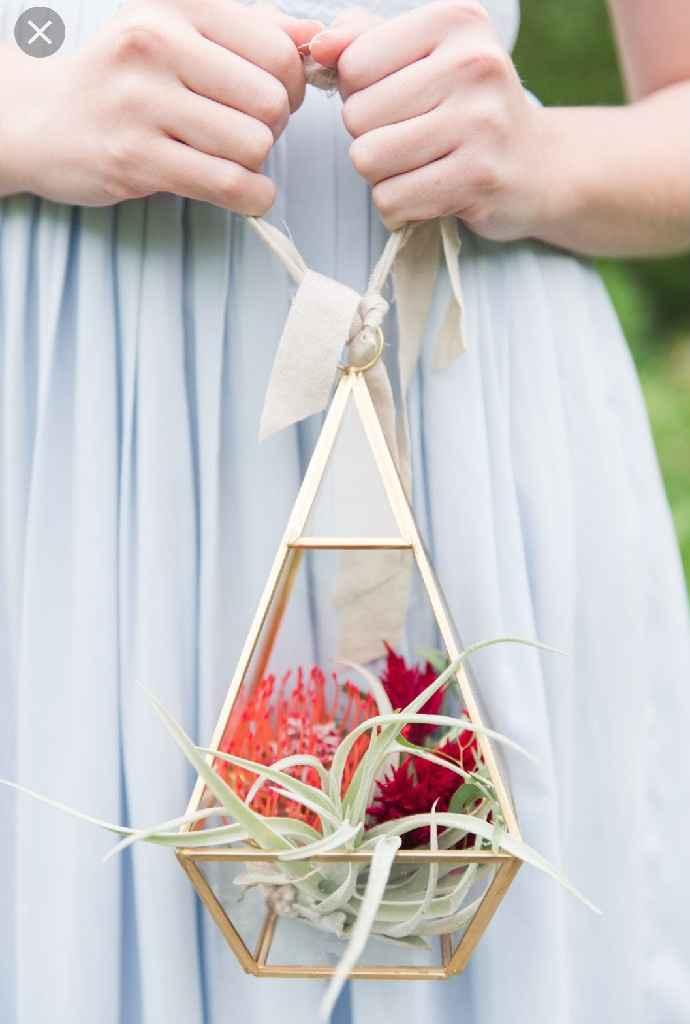Bridesmaid floral question - 1