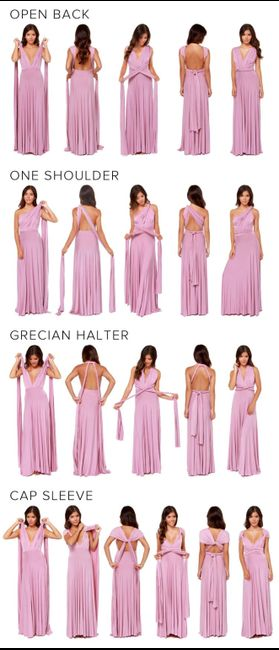 Bridesmaids dress too thin. How to fix? 1