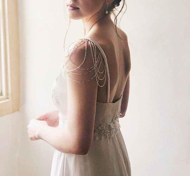 Adding Straps to my Strapless Dress - 1