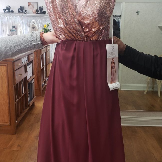 i just bought my flower girl dresses! 7