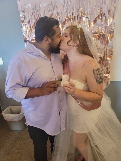 Let's see your favorite photos of you and your spouse! 9