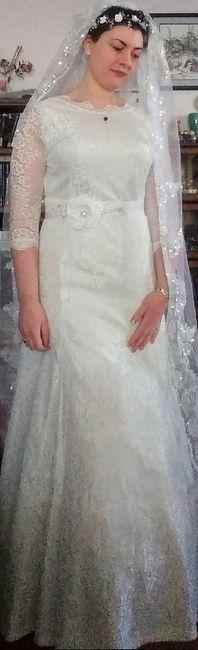 Modest lace wedding dresses 1