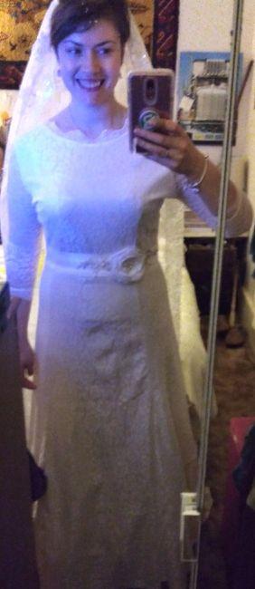 Modest lace wedding dresses 3