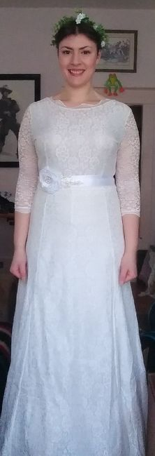 New dress and new veil 5