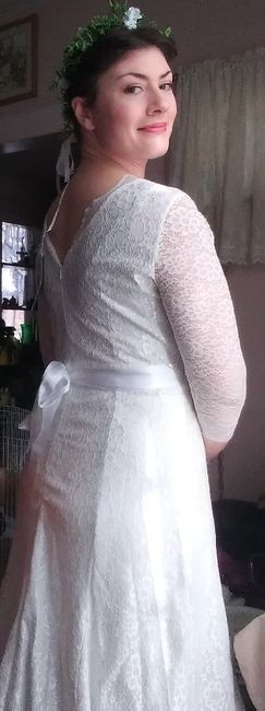 New dress and new veil 6