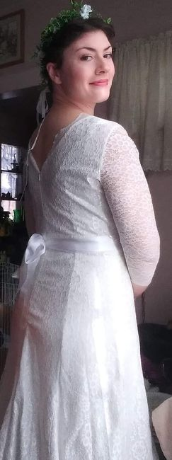 Almost wedding day.. Worried about dress again 1