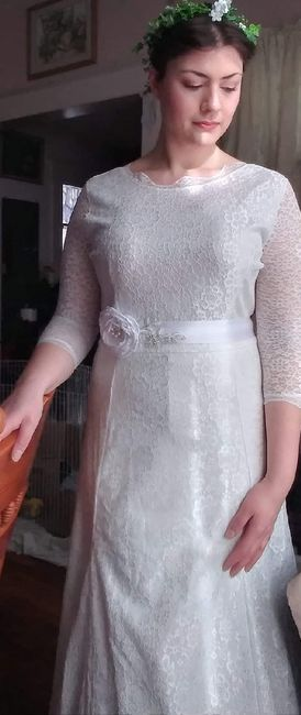 Almost wedding day.. Worried about dress again 2