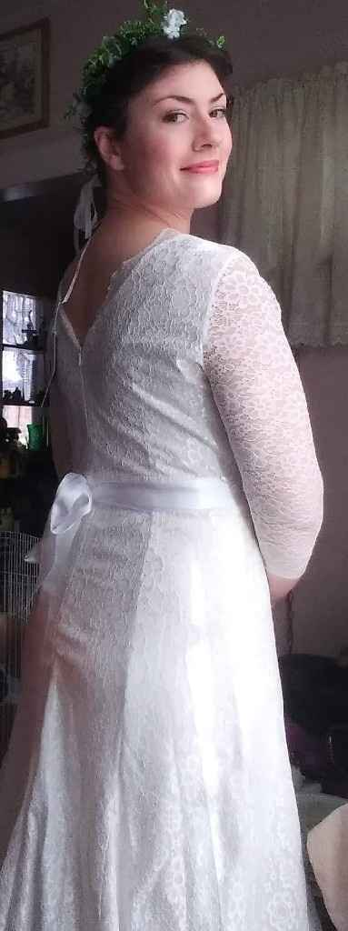 Almost wedding day.. Worried about dress again - 1