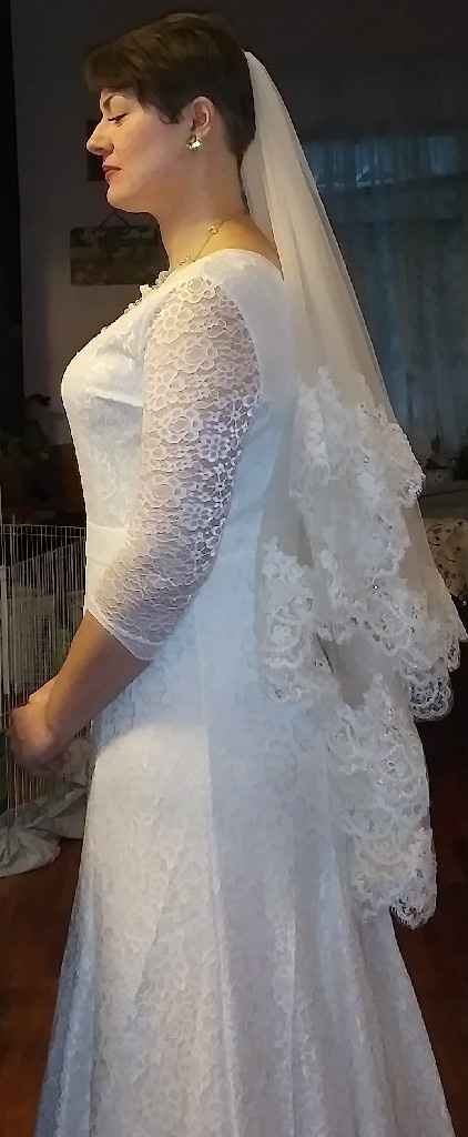 Almost wedding day.. Worried about dress again - 3
