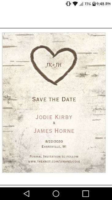 Show me your Save the Dates! 9