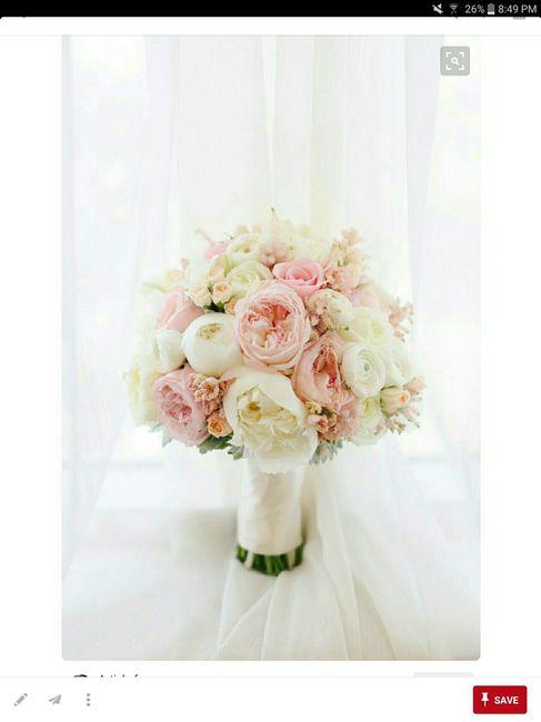 All White vs Color Bouquet?
