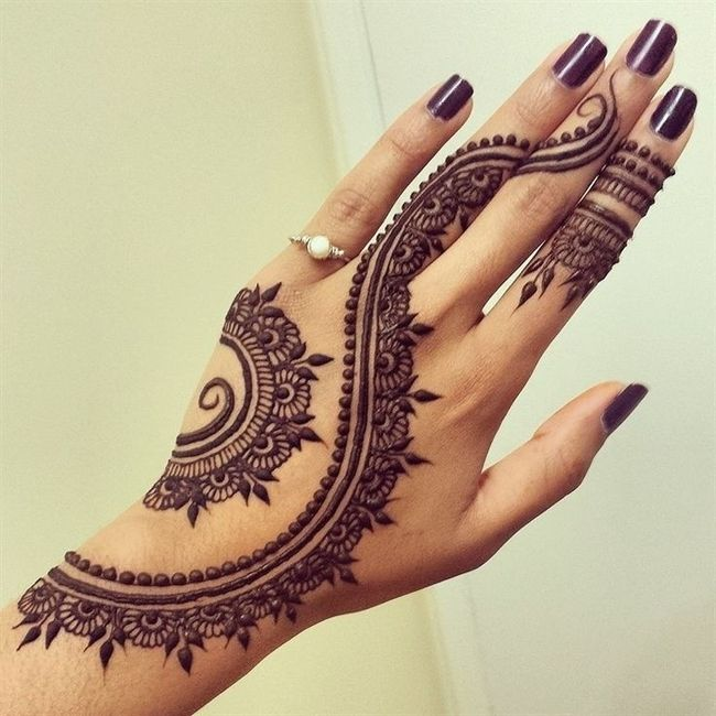 Henna Mehndi With White Dress Weddings Wedding Attire Wedding
