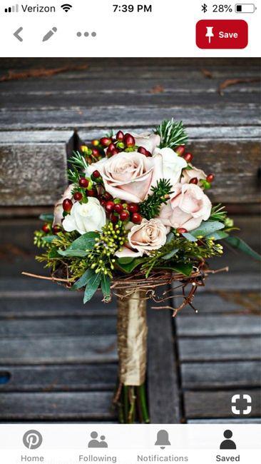 Which Winter Wedding Bouquet? 12