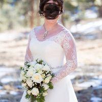Long sleeve lace wedding dress in June?? Good or bad idea? - 1