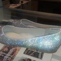 Crystal sparkling bridal flats - 2