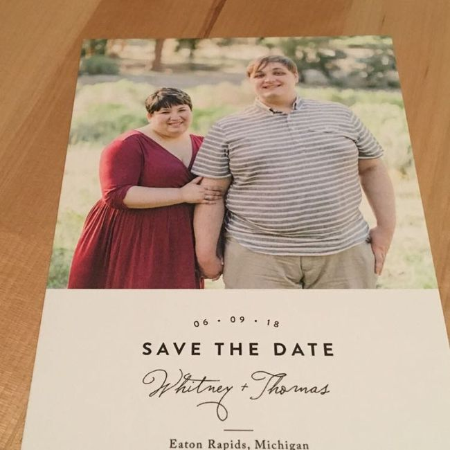 Save the dates - picture or no picture? 11