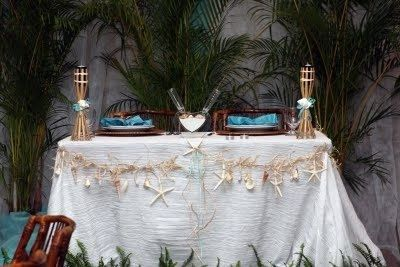 Mr and Mrs wedding table 15