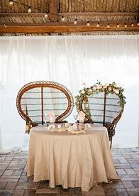 Mr and Mrs wedding table 14