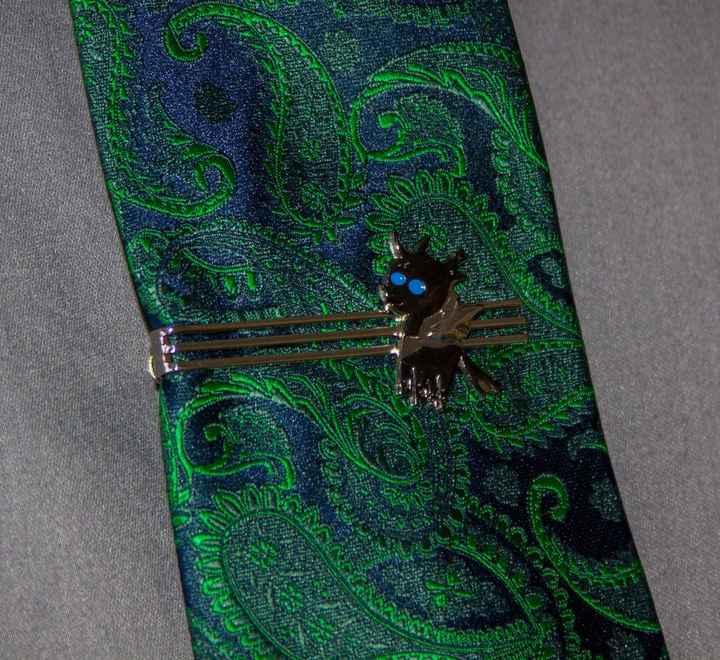 Changeling Tie Clip