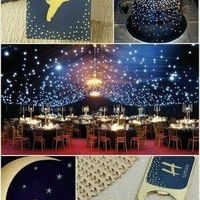 Moon theme wedding
