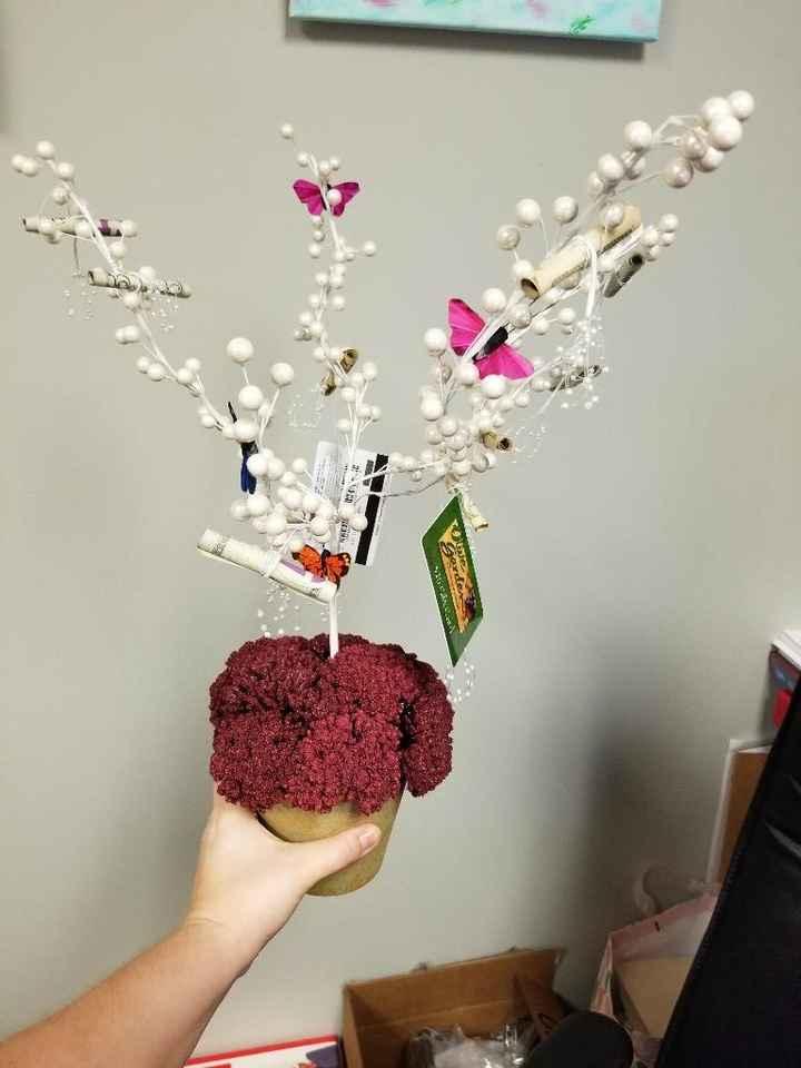 Money/Gift Card tree